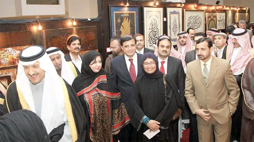 Top Pakistani calligraphers showcase works in Riyadh