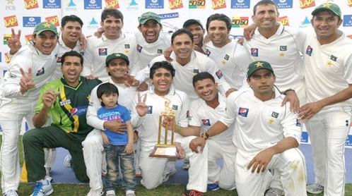 Pakistans first clean sweep over England