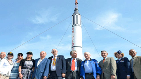 US space flight anniversary