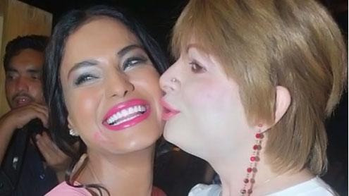Veena Malik and Bobby Darling