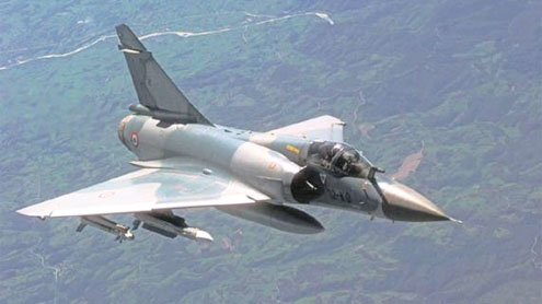Air Marshal, Wing Commander survive Mirage crash