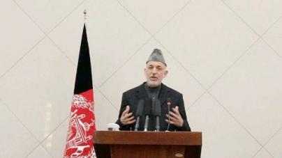 Afghan president renews call for calm