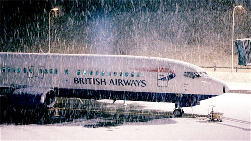 More snow could hit Heathrow over weekend