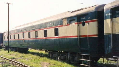 55 railway coaches from China arrive