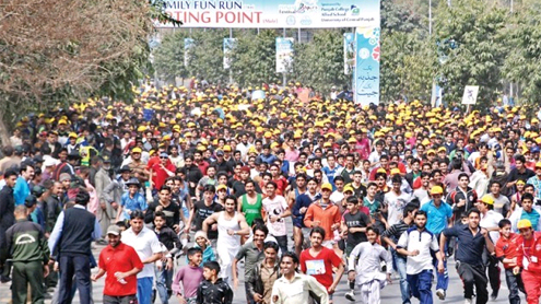 Army athletes win Lahore Marathon