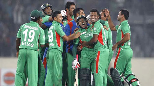 Bangla Tigers in asia cup final