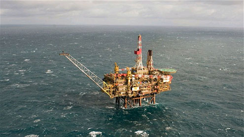Chevron halts production