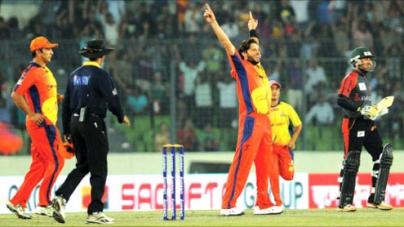 Afridi, Nazir help Dhaka Gladiators lift inaugural