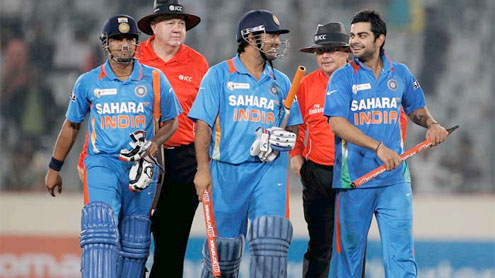 India beat Pakistan in Asia Cup