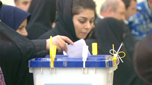 Iran leader consolidates power, vote results suggest