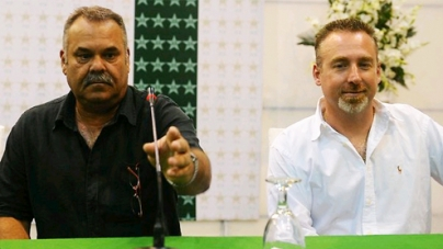 Whatmore, Julian appointed coaches for two years
