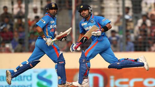 Kohli, Gambhir set up India win in Asia cup.