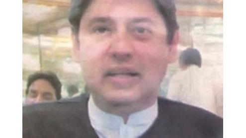 Lt. Gen Tariq Majeed's son-in-law recovered