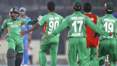 Indian bowling spoils historic day in Mirpur