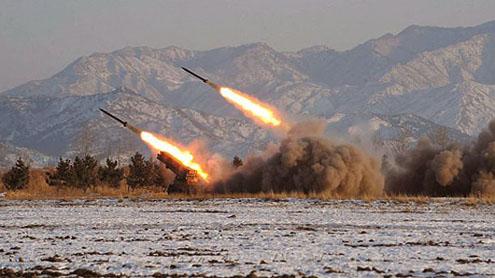 North Korea test fires short-range missiles: reports