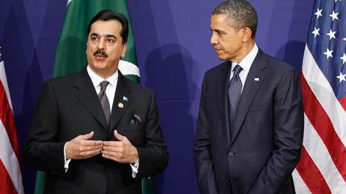 Obama and Gilani
