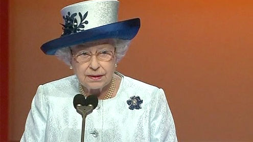 Queen Elizabeth II to open 2012 Olympics