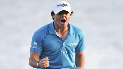 Rory McIlroy on top of the world after beating a resurgent Tiger Woods at the Honda Classic in Florida