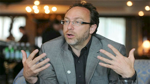 Wikipedia chief Jimmy Wales