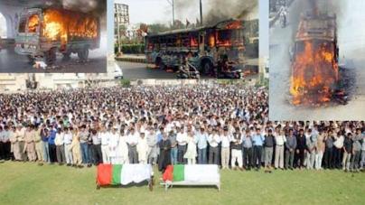 Killing and arson come back to torment Karachi