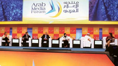 Live from Venue at 11th Arab Media Forum