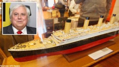 Australian billionaire to build Titanic II