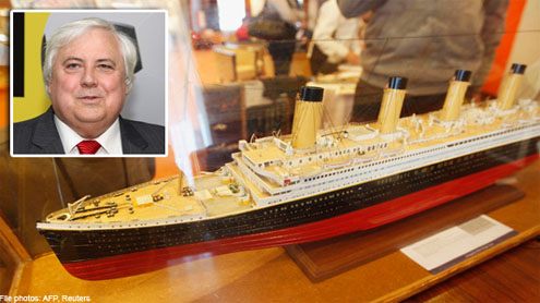 Australian billionaire to build Titanic II