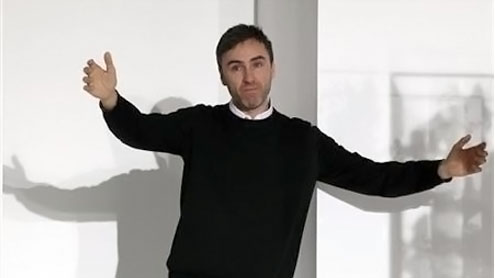 Raf Simons takes over for Galliano at Dior