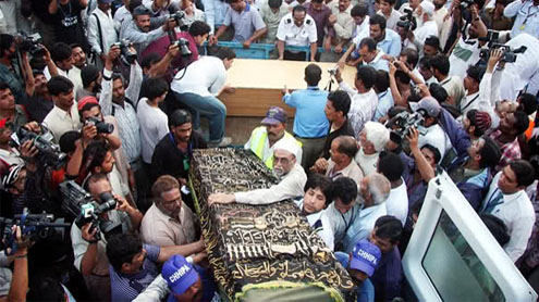 43 bodies of Bhoja air crash victims reach Karachi