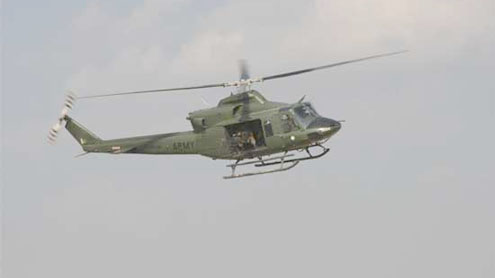 5 top FC officers hurt as chopper crash-lands in Mohmand