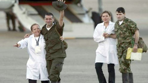 Colombia's Farc rebels release hostages