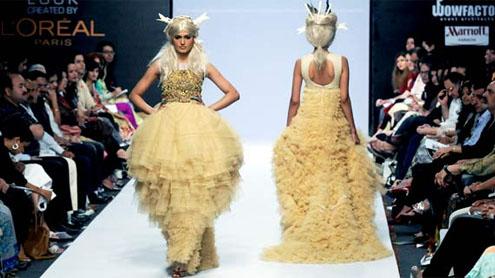 Mathira's fashion week wardrobe malfunction