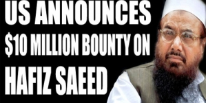 US announces $10 million bounty on Lashkar chief's head
