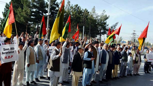 Hazara community's sorrows