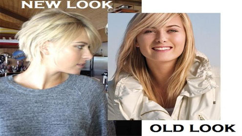 Maria Sharapova's haircut sparks internet frenzy