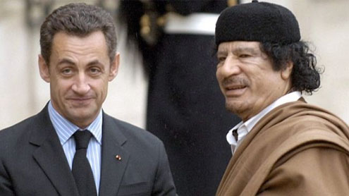 Nicolas Sarkozy forced to deny he received 50 million euros from Muammar Gaddafi