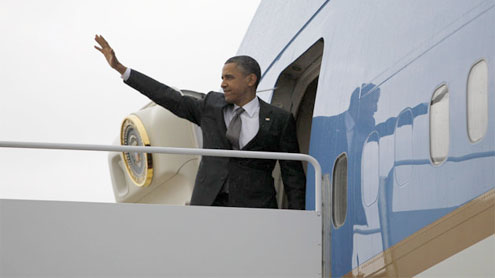 Obama fires back at criticisms of his travel