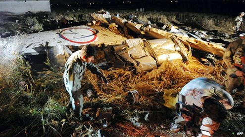 Names of Plane Crash Victims
