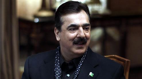 Prime Minister Gilani