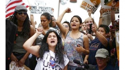 Hundreds march against Arizona immigration law