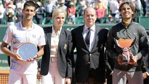Nadal thrashes Djokovic to win eighth Monte Carlo title