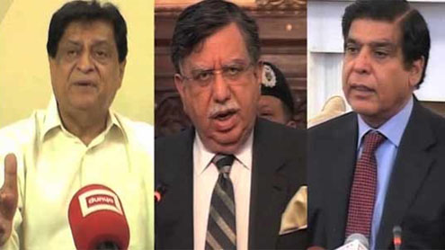 Raja Pervaiz, Shoukat Tarin, Liaqat Jatoi put on ECL