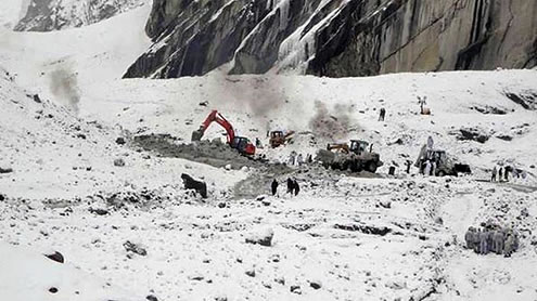 The horror called Siachen Glacier