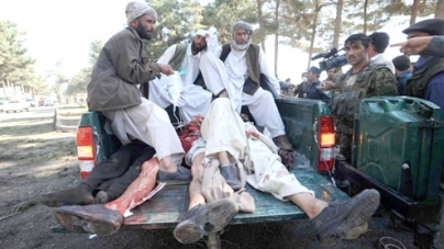 Attacks on 2 Afghan govt offices kill 15