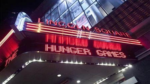 """Three in a row: """"Hunger Games"""" leads box office"""