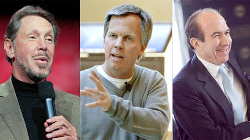 Top 100 US CEOs earned $2bn in 2011