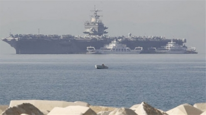 US flexes muscles as it sends aircraft carriers to Persian Gulf