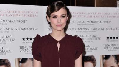 Actress Keira Knightley engaged to British rocker