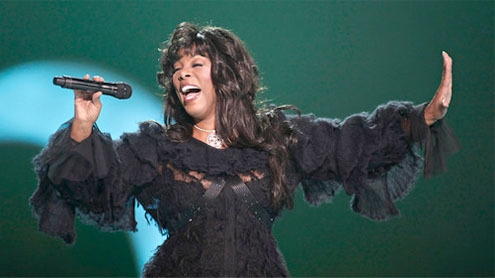 Disco star Donna Summer's funeral held