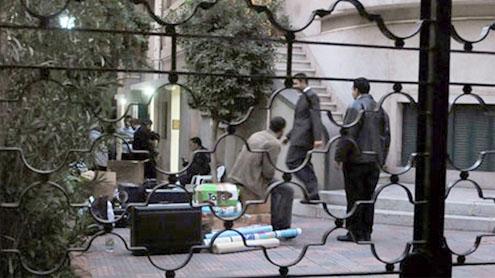 Egypt police raid Iran TV office in Cairo